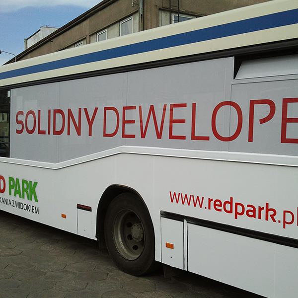 Red Park Bus